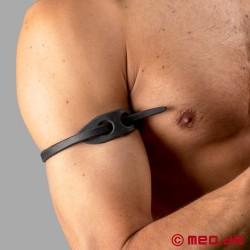 Dr. Sado's Snake Whip Armband – Diskrete Peitsche als Oberarmband