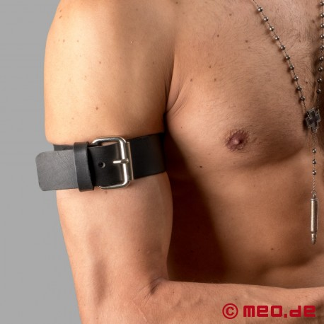 Bracelet de bras à boucle en cuir