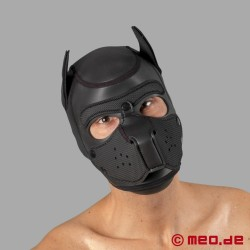 Bad Puppy - maschera da cane in neoprene - nero