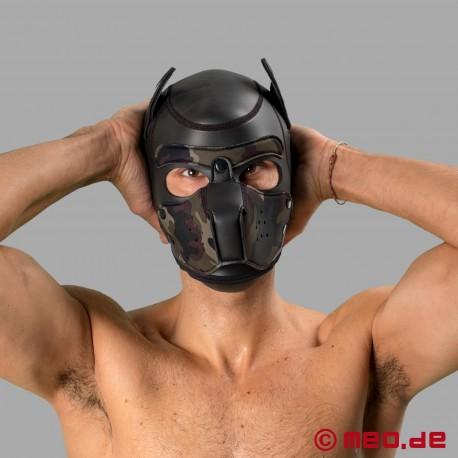 Bad Puppy - Hundemaske aus Neopren - schwarz/camouflage