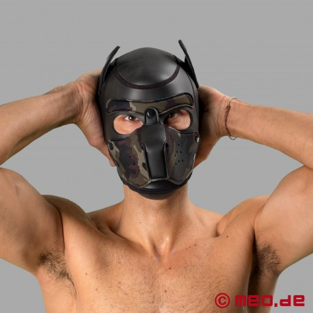 Bad Puppy - Masque Puppy en néoprène - noir/camou
