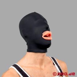 Lèvres fellatoires gonflées en silicone rose