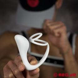 Anal Explorer III Alpin – Stimulateur de prostate à cockring/ballring