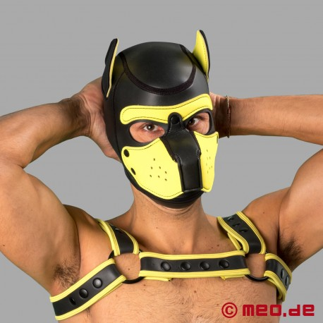 Bad Puppy Neoprene Hood - black/yellow
