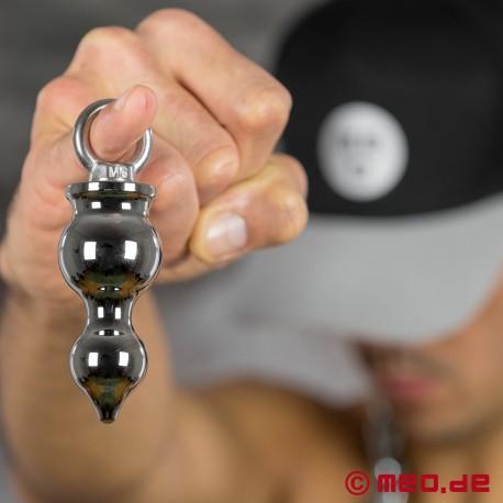 AMOREMEO Anal Pusher - Plug anal en métal