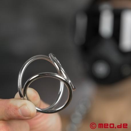 Anello fallico triplo – CAZZOMEO Triple Cock Ring