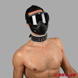 Code Z Bondage Collar black/white