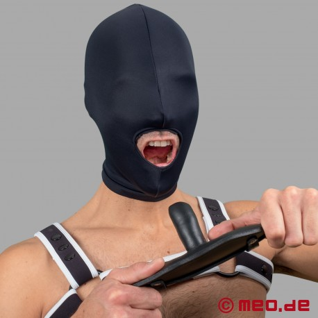 Lockable gag with time lock