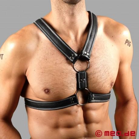 Code Z Berlin Bondage Harness in real leather