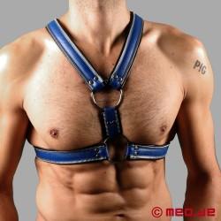 Code Z Berlin Bondage Harness schwarz/blau
