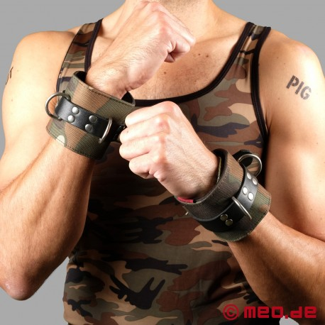 MILITARY BONDAGE - Marrakech Camouflage Wrist Restraints