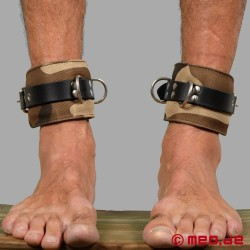 MILITARY BONDAGE - Marrakech Camouflage Ankle Restraints