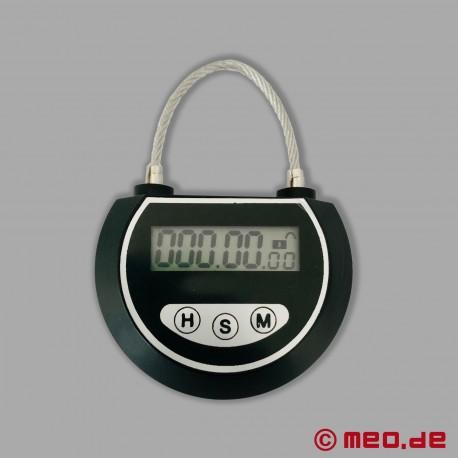 MEOBOND 999 - Cadenas à minuterie électronique pour bondage & ceinture de chasteté