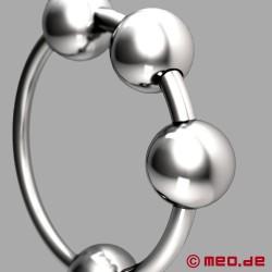 CAZZOMEO ® Anneau de gland avec boules de stimulation
