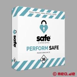Safe - Préservatifs de performance - Boîte de 36 préservatifs