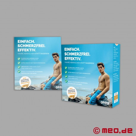 SKIN2SKIN Hair removal (epilation) for men