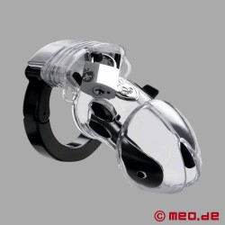 PUBIC ENEMY NO 1 - penis cage - chastity belt with e-stim