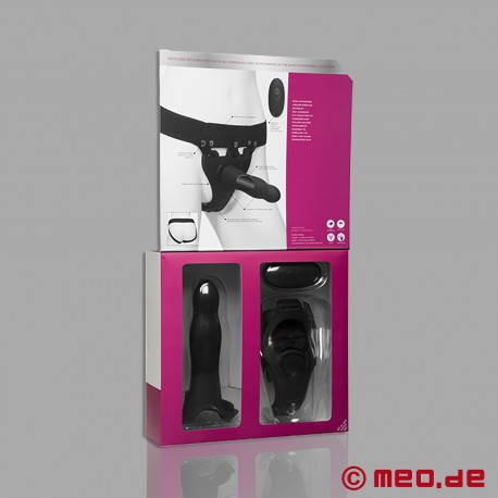 Body Extensions Strap-On - BE Aroused Strap On Dildo