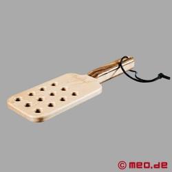 Pagaie classique en bois pour le Spanking & le BDSM