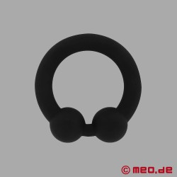 The Bull Cock Ring - black