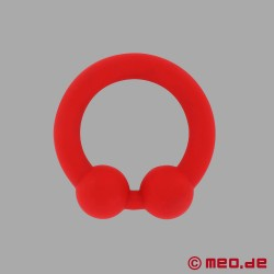 The Bull Cock Ring - red