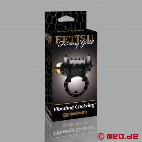 GOLD - Vibrating Penis Ring