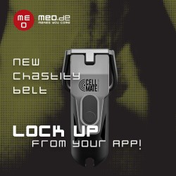 CELLMATE chastity belt - App-controlled chastity belt