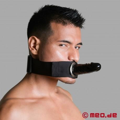 Strap-On Dildo – Umschnalldildo für Oberschenkel, Fußgelenk oder Kopf