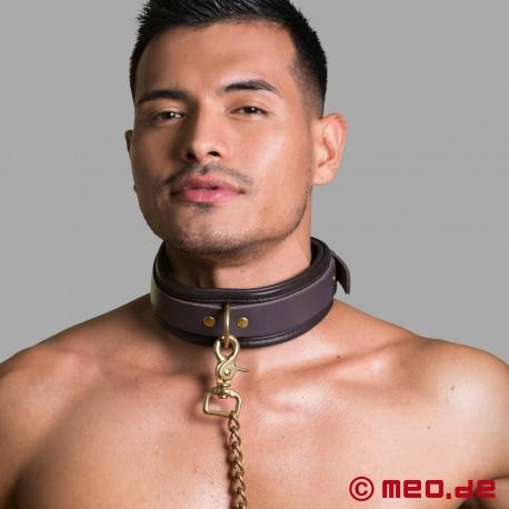 Bondage leather leash
