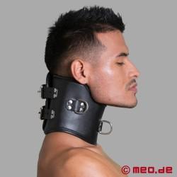 Bondage Posture Collar - Halskrause aus Leder