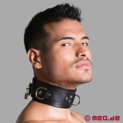 Abschließbares Halsband BLACK BERLIN