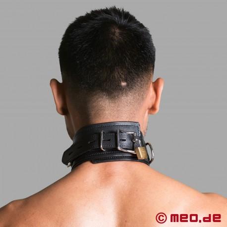 Lockable Bondage Collar - BLACK BERLIN