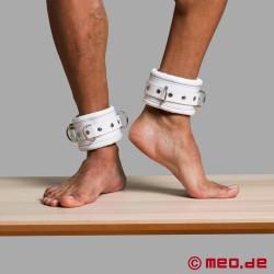 White lockable Ankle Restraints - CASABLANCA
