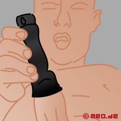 Vibratore del glande con sonda uretrale
