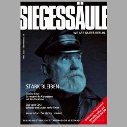 Siegessäule Berlin - We are queer - Berlins meistgelesenes Stadtmagazin