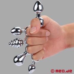 Finger Anal Plug mit Ring