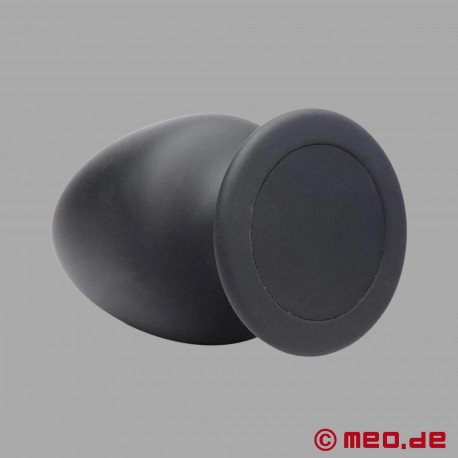 Squeezable thermo-active anal plug made from Silexpan