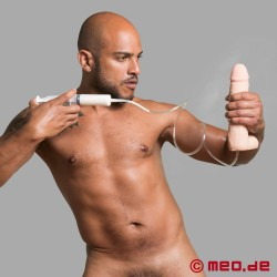 Gode Dual Density Squirting - 20 cm