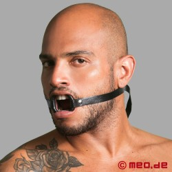 Leather O-Ring Mouth Gag