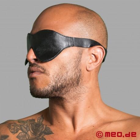 Masque de bondage pour les yeux en cuir