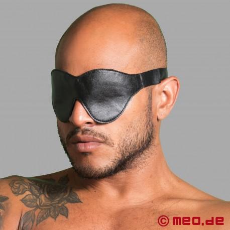 Bondage Augenmaske aus Leder