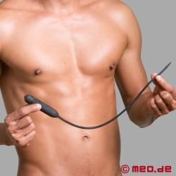 Long vibromasseur d'urètre à vibrations – Perte de contrôle pour l'homme