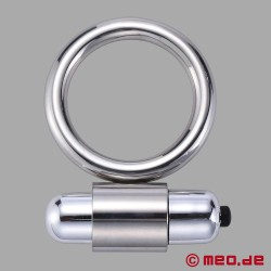 Metall Cock Ring mit Vibration