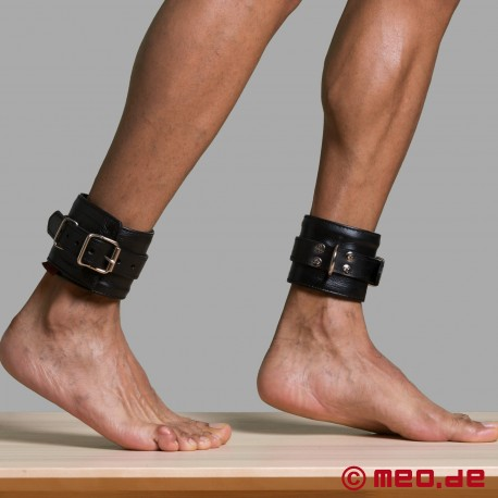 Fußfesseln aus echtem Leder - MEO® Vintage-Edition