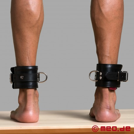Leather Lined Ankle Restraints - MEO® Vintage-Edition