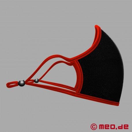 Adjustable designer mask with replaceable filter
