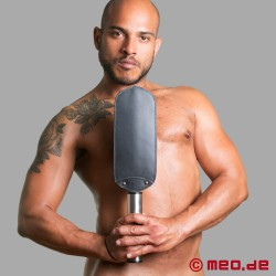 HURTME: Padded leather paddle