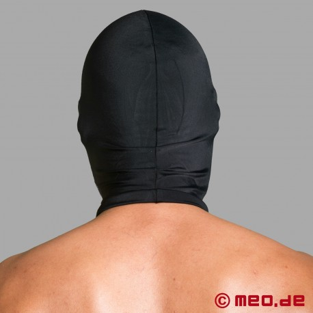 Spandex mask with eyes and mouth