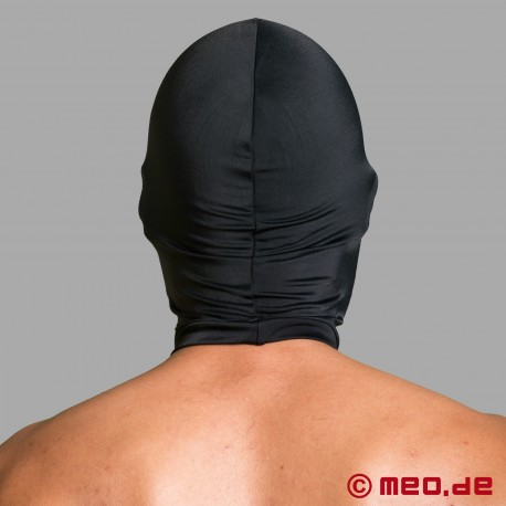 Spandex mask with mouth
