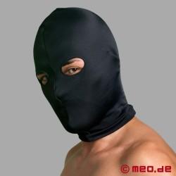 Maschera in spandex con apertura per occhi